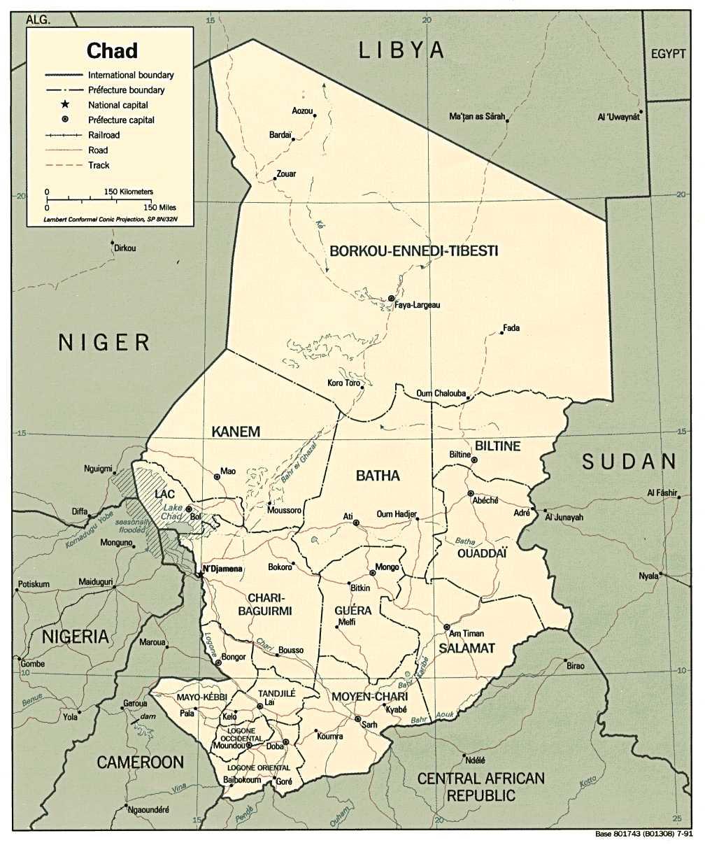 Bien-aimé Cartes d'Afrique francophone, carte du Maghreb (Niger, Togo, Tchad  OE01